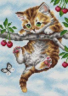 Cross Stitch Heart, Cross Stitch Animals, Cross Stitch Flowers, Cross Stitching, Cross Stitch Embroidery, Embroidery Patterns, Modern Cross Stitch Patterns, Cross Stitch Designs, Beaded Flowers Patterns