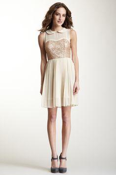 Gracia  Peter Pan Collar Sequin Dress  $49.00  $103.00 52% off