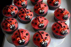 Ladybug cupcakes cute!