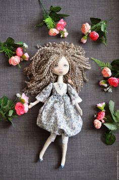 muñecas de colección hechos a mano.  muñeca textil.  Anastasia (AnastasiaYu).  Tienda Online Masters Fair.  interior de la muñeca azul