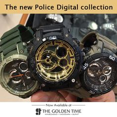 The new Police Digital collection is amazingly gearing up the golden time charts. Grab one as the price are shockingly priced. Starts at Rs.5995 only #thegoldentime #sports #watch #ahmedabad #vadodara #surat #Police #latest #collection Visit Website : www.thegoldentime.com For any query call on our helpline number : +91 9687366522