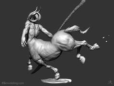 ZBrush Centaur Timelapse by Michael Milano