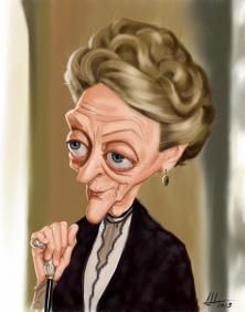 Contest Dame Maggie Smith on Wittygraphy