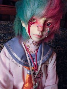 jd, doll, and Kép hinge doll bjd, doll, and Kép hinge doll Doll Tattoo, Kawaii Doll, Doll Painting, Anime Dolls, Creepy Dolls, Doll Repaint, Boy Doll, Ooak Dolls, Diy Makeup