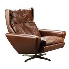 Georg Thams Brown armchair 1