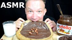 Nutella Jar, Nutella Crepes, Homemade Crepes, Autonomous Sensory Meridian Response, Asmr, Watch, Breakfast, Youtube, Recipes