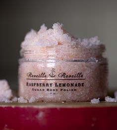 Raspberry Lemonade Sugar Scrub//
