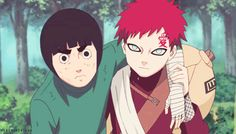 It's also understandable like some character bonded with Naruto like Jiriaya, Hinata, Kakashi, etc but right now Naruto is the only friend Gaara can think of. Description from narutobase.net. I searched for this on bing.com/images