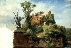 Pierre-Henri de Valenciennes, Landscape with Ruins, c.1782-85