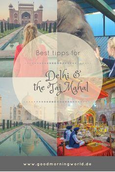 Indien Urlaub: Delhi Sehenswürdigkeiten & das Taj Mahal in Agra Agra, Yoga Goa, Strand Yoga, Taj Mahal, Good Morning World, World Pictures, What Inspires You, Wonderful Places, Cambodia