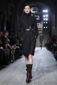 The perfect black jacket from Victoria Beckham RTW Fall 2012.