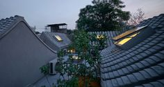 beijing design week TAO trace architecture office split courtyard house hutong china designboom