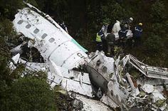75 Dead After Plane Carrying A Brazilian Soccer Team Crashes In Colombia
