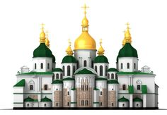 3ds max saint sophia cathedral kiev