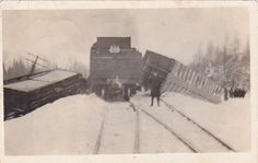 RP: Train Wreck , SCOTSTOWN , Ontario , Canada , PU-1917