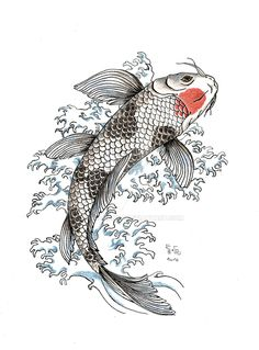 Koi carp google search broderie japonaise pinterest for Carpe chinoise prix