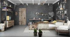 Ideias para uma decoração industrial- Totalize Cobrança Condominial