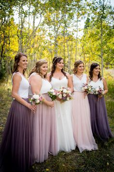 Bridesmaid Dresses, look at this delightfully wonderful pin snap-shots 1282150910 now. Bridesmaid Skirt And Top, Two Piece Bridesmaid Dresses, Bridesmaid Separates, Bridesmaid Outfit, Wedding Bridesmaids, Wedding Attire, Tulle Bridesmaid Dress, Country Bridesmaid Dresses, Wedding Themes