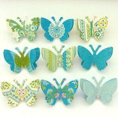 beachcottagestudio on etsy.  paper butterfly push pins
