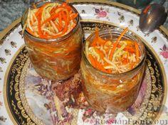 Фото приготовления рецепта: Кабачки по-корейски - шаг №9