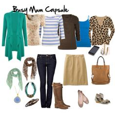 Wardrobe Capsules for Your Life – Busy Mum (Mom)