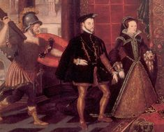 At 37 years old, Mary I of England was finally going to get married. She couldn't wait but her betrothed, Prince Philip of Spain, wasn't as enthusiastic about the match. His reasons for the marriage were entirely political.  On 19th July,   Philip set foot on English soil. He was greeted by a salute of cannon fire, a present from Mary. He was also informed that his father, the emperor Charles V, had elevated him to the same rank as his wife by ceding him the kingdoms of Naples and Jerusalem.