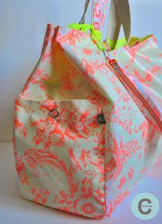 Les Fåntåisies de Cocorely: Le maxi sac de plage