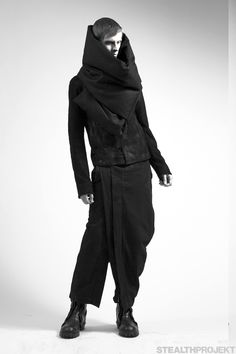 Julius FW13 Styles 002 | macabre | dark fashion | goth | obscure | high fashion | editorial