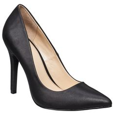 Women's Prabal Gurung for Target® Pointy-Toe Pump - Black    Love these! A great office staple that's not too tall! So glad Prabal Gurung partnered with Target to design this collection! Perfect value!