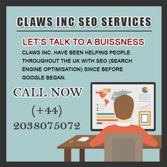 CLAWS INC Provide SEO services in London. You can hire professional SEO Expert.  I work one on one with your business/company to dominate your market online.