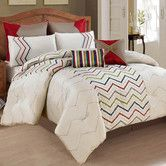 Found it at Wayfair - Dot 8 Piece Comforter Set  Like it for Fall