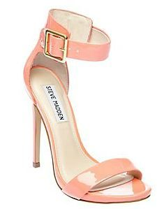 Steve Madden Marlenee Coral --I LOVE this shoe!! @Ashley Bever  this type of color for bridesmaids might be awesome!