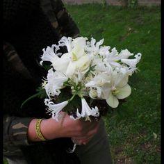 Winter white bruidsboeket