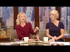 Megyn Kelly Tells 'Stunned' Live! Audience That the Trump Presidency Will Turn Out OK - YouTube