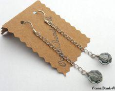 Swarovsky crystal 6mm beads necklace 0211NK by Happybeadershop