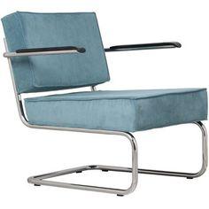 Zuiver Lounge Chair Ridge Rib Leuning kopen? Bestel bij fonQ.nl