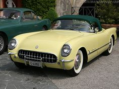 Chevrolet Corvette V8 1955..Re-Pin..Brought to you by #HouseofInsurance in #EugeneOregon