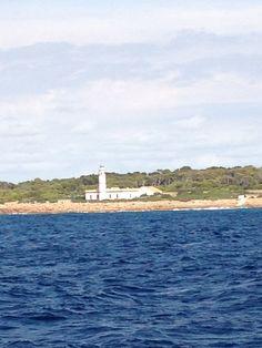 Far d'es Cap de ses Salines en Ses Salines, Islas Baleares