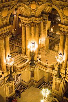 Opéra Garnier ~ Paris, France