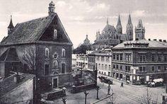 pohled_na_klaster_a_kostel_ve_20.letech_20.stol._dum_vpravo_postaven_1885_