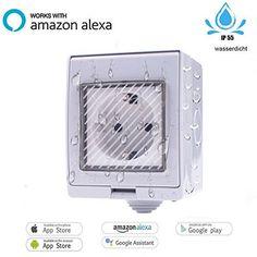 VIGICA Commutateur Interrupteur intelligent Smart WiFi Prise de Courant étanche IP55 WiFi avec Google Home Amazon Alexa [Echo, Echo Dot]…