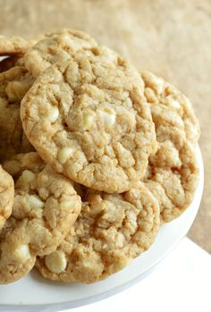 Marry Me Cookies with White Chocolate and Macadamia Nuts FoodBlogs.com