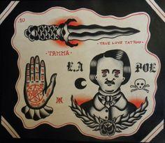 Edgar Allan Poe Flash Sheet by Tamma (2010)