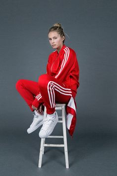survetement femme adidas ensemble rouge