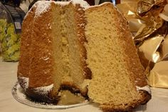 That other great Italian Christmas cake, Pandoro 'golden bread' from Verona.
