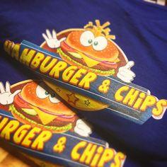 @hamburger_chips mi sa che vi stanno per arrivare le t-shirt   #hamburger #chips #t-shirt #print #apparel #custom #burger #ink #dtg #fullcolor #color #design #graphic #fashion #dresscode #top