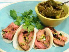 Jicama Tacos Recipe : Marcela Valladolid : Food Network - FoodNetwork.com What a great idea!  I love jicama!!!