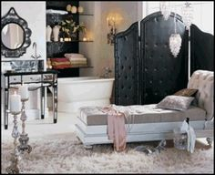 Old Hollywood Glamour Furniture | Glamour In Your Decor | Fabrics and Frames Furniture