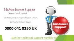 If there is occurring any critical error in McAfee Software and unsupported to your device then Contact us @ 0800 041 8250 McAfee Support Phone Number UK Tech Support, Numbers, Software, Phone, Telephone, Mobile Phones