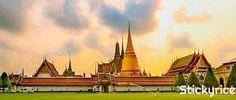 El Wat Phra Kaew, es uno de los templos más famosos y venerados en #Bangkok! http://bangkok.stickyrice.co/wat-phra-kaew/ วัดพระศรีรัตนศาสดาราม (Temple of the Emerald Buddha) วัดพระแก้ว en พระนคร, กรุงเทพมหานคร